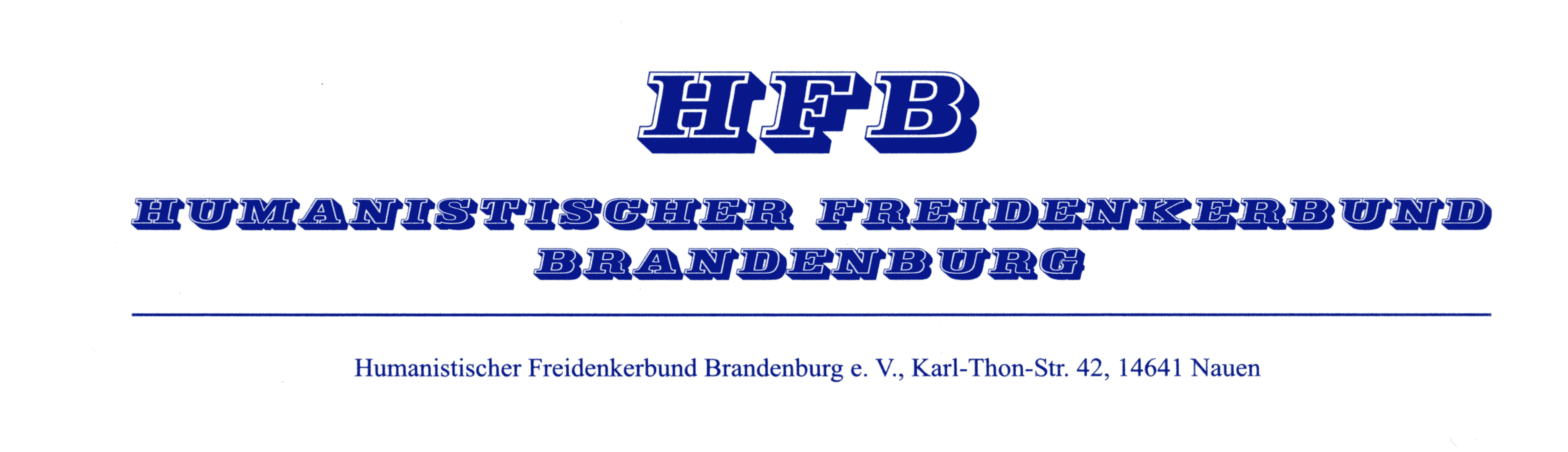 Humanistischer Freidenkerbund Brandenburg e.V.